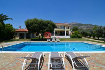 居外网在售希腊8卧7卫的房产总占地4000平方米EUR 1,440,000
