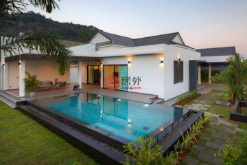 居外网在售泰国华欣3卧3卫的房产总占地586平方米THB 13,450,000