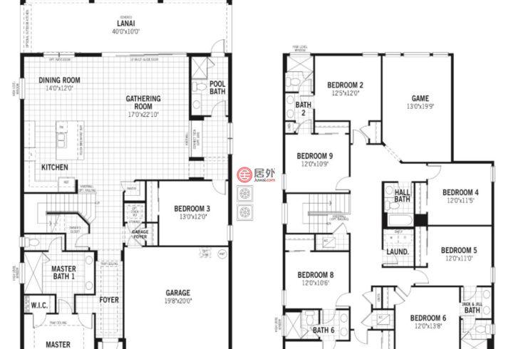 美国佛罗里达州奥兰多的房产,8998 Monaco Blvd,编号35874415
