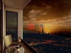 居外网在售阿联酋迪拜2卧2卫的房产总占地74平方米AED 1,240,000