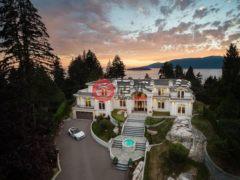 居外网在售加拿大7卧9卫的独栋别墅总占地36032平方米CAD 22,800,000