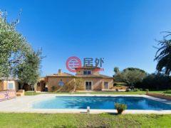 居外网在售法国圣特罗佩8卧5卫的房产总占地3038平方米EUR 10,000,000