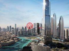 居外网在售阿联酋迪拜2卧3卫的房产总占地98平方米AED 2,977,888