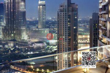 居外网在售阿联酋迪拜2卧2卫的房产总占地112平方米AED 2,042,888