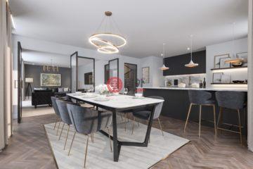 居外网在售英国2卧2卫新开发的房产总占地60平方米GBP 195,011