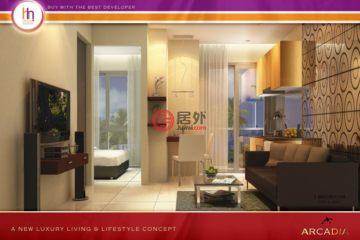 居外网在售泰国1卧1卫原装保留的房产总占地25平方米THB 1,599,000