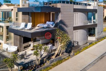 居外网在售美国4卧5卫的房产总占地238平方米USD 9,895,000