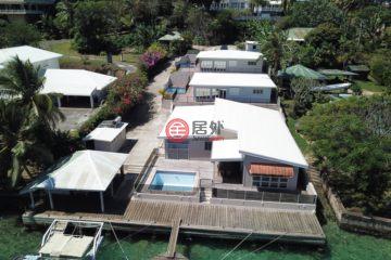 居外网在售瓦努阿图维拉港9卧6卫的房产总占地1585平方米VUV 345,000,000