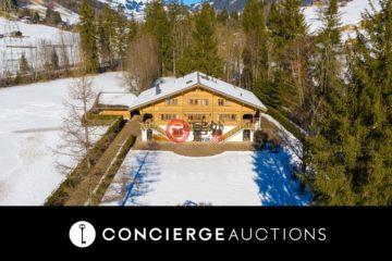 居外网在售瑞士Gstaad5卧3卫的房产总占地3287平方米