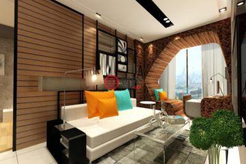 居外网在售马来西亚1卧1卫新开发的房产总占地64平方米MYR 1,035,000