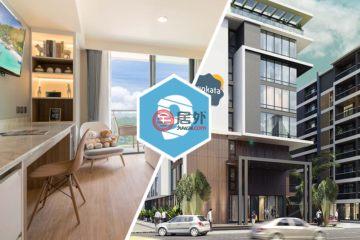 居外网在售泰国1卧1卫新开发的房产总占地30平方米THB 3,500,000