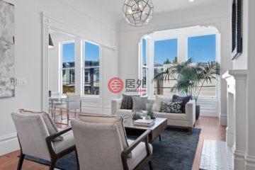 居外网在售美国3卧3卫最近整修过的房产总占地8743平方米USD 1,750,000
