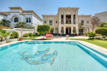 居外网在售阿联酋迪拜6卧6卫的房产总占地1810平方米AED 30,000,000