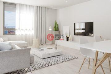 居外网在售西班牙Barcelona3卧2卫的新建房产总占地97平方米EUR 337,000起