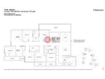 新加坡SingaporeSingapore的公寓,81, 83, 85, 87, 89, 91, 93, 95, 97 Hougang Ave 2,编号59637443