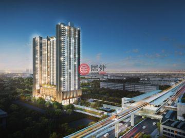 居外网在售泰国1卧特别设计建筑的新建房产总占地32平方米THB 2,286,000起