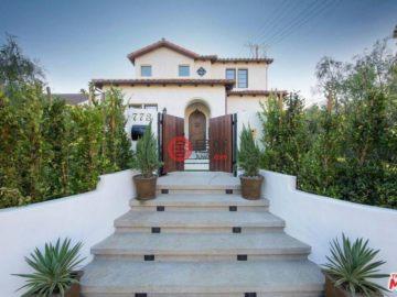 美国房产房价_加州房产房价_洛杉矶房产房价_居外网在售美国洛杉矶4卧4卫特别设计建筑的房产USD 4,590,000