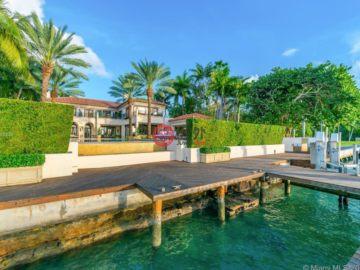 美国房产房价_佛罗里达州房产房价_迈阿密海滩房产房价_居外网在售美国迈阿密海滩10卧11卫的房产总占地3718平方米USD 40,000,000