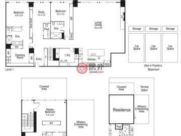 澳大利亚维多利亚州墨尔本的房产,1802/499 St Kilda Road,编号51273367