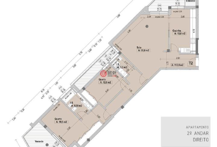 葡萄牙莱里亚莱里亚的房产,Aldeamento Santa Clara,编号54237046