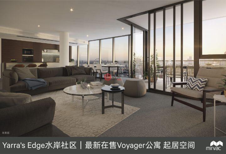 澳大利亚维多利亚州墨尔本的新建房产,103 South Wharf Drive,编号55674905