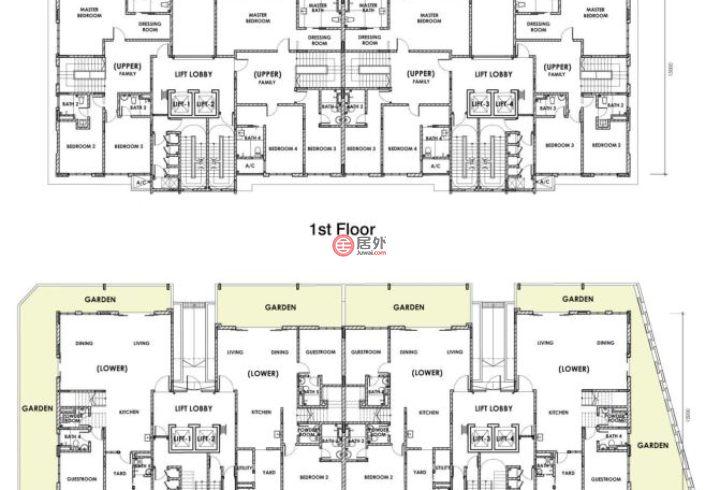 马来西亚Federal Territory of Kuala LumpurKuala Lumpur的公寓,Damansara Height,编号45398726