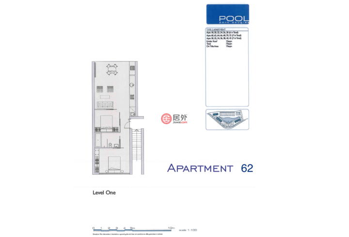 澳大利亚昆士兰道格拉斯港的房产,Pool Resort Apartment 62, 19-37 St Crispins Avenue,  Port Douglas QLD 4877 Australia,编号34310212