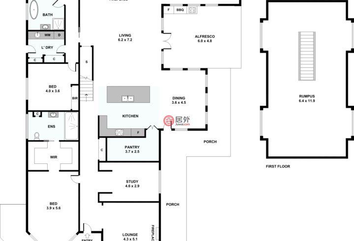 澳大利亚维多利亚州墨尔本的房产,8 Mokoan Close,编号58242131