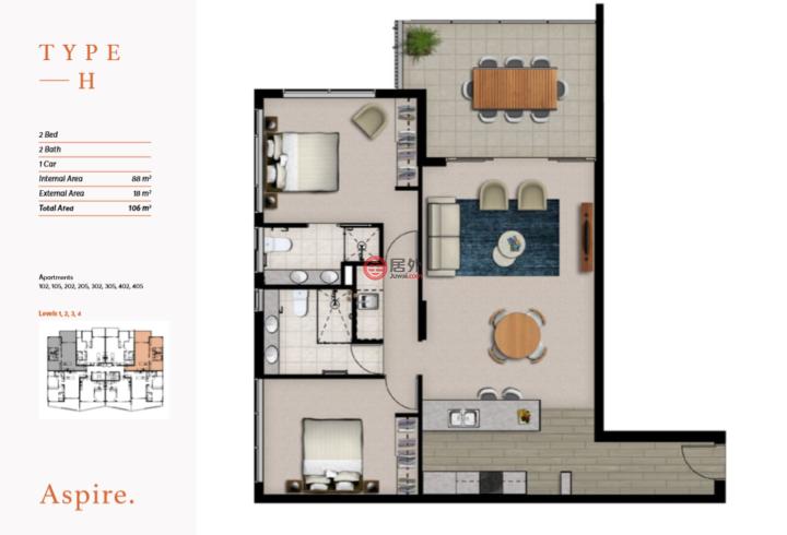 澳大利亚昆士兰布里斯班的新建房产,51 Latham St.,编号50906977