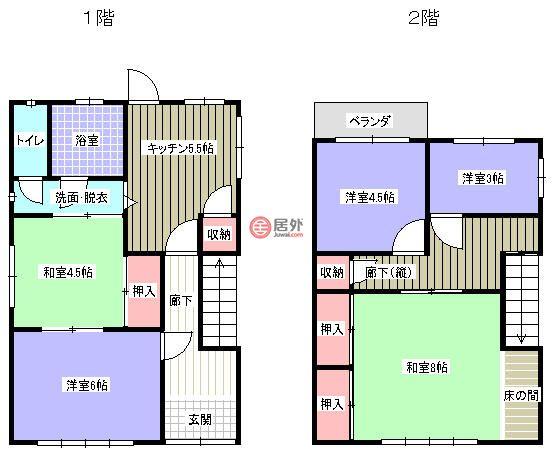 日本和歌山和歌山市的房产,和歌山県日高郡由良町神谷,编号54996890