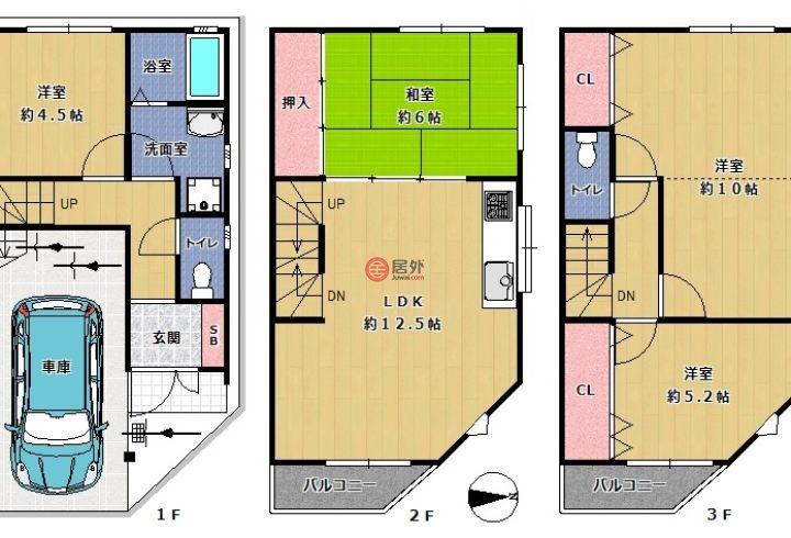 日本大阪府大阪市的房产,平野区加美北2丁目 ,编号56405219