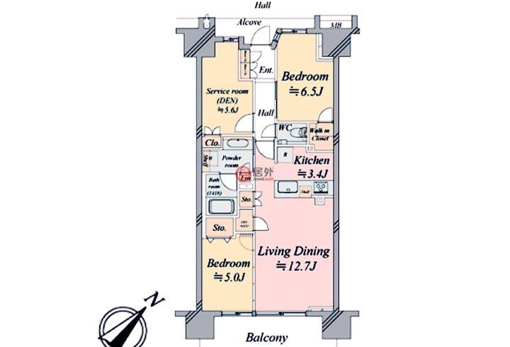 日本JapanTokyo的房产,2-1-32 Etchujima,编号58337747