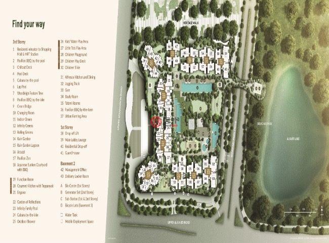 新加坡东北地区新加坡的公寓,桦丽居,编号60197227