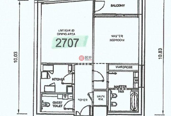 阿联酋迪拜迪拜的房产,Al Bateen, Jumeirah Beach Residence,编号51513886
