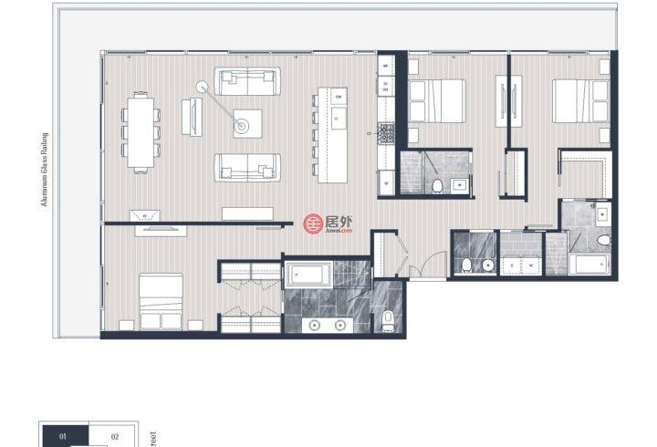 美国华盛顿州西雅图的房产,2000 Third Avenue,编号47072706