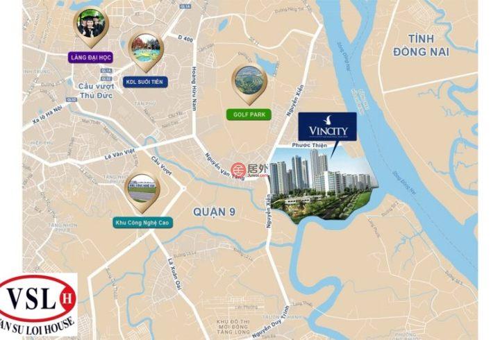 越南Hồ Chí Minh cityHo Chi Minh City的房产,Vincity-胡志明市、第九郡、龙盛美坊、Nguyễn Xiển 路,编号42757678