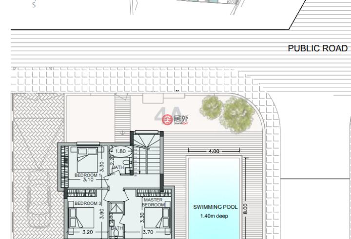 塞浦路斯利马索尔利马索尔的房产,编号40220123
