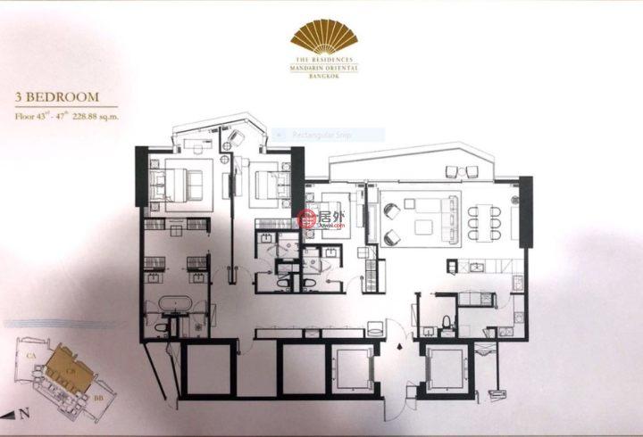 泰国Bangkok曼谷的房产,299 Charoen Nakhon Soi 5, Charoen Nakhon Road,编号49525622