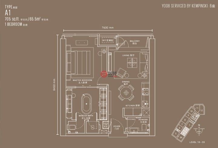 马来西亚Kuala Lumpur吉隆坡的房产,编号54015030