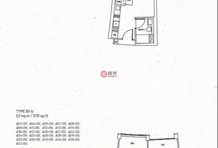 新加坡中星加坡新加坡的房产,万宝轩,珍珠山一号,编号55551169