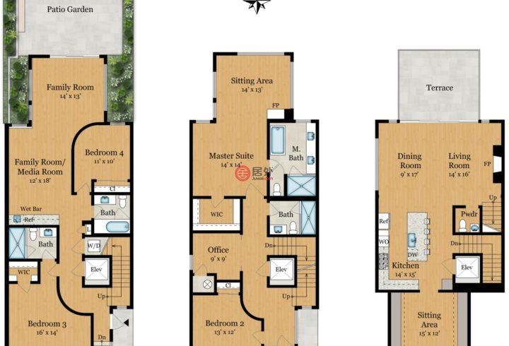 美国加州旧金山的房产,740 Bay St,编号53524537