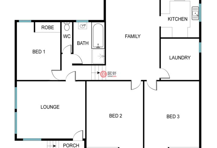 澳大利亚澳大利亚首都领地Flynn的房产,12 Bennett Place,编号52639005