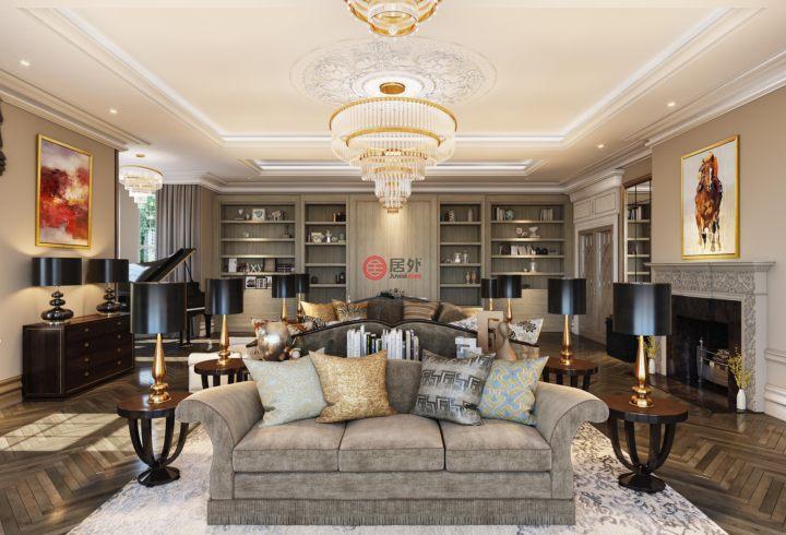 英国英格兰Oxshott的独栋别墅,Hampton Hall Queens Drive,编号52872586